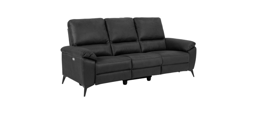 Rana 3-personers sofa grå