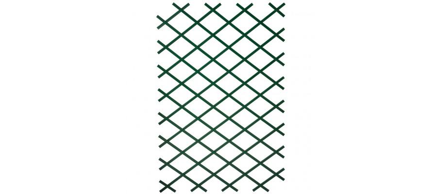 Nature haveespalier 100x200 cm PVC grøn 6040704