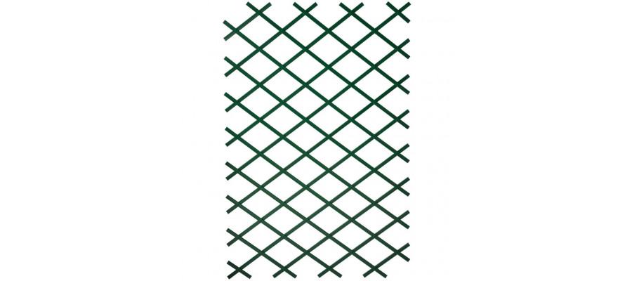 Nature espalier 100 x 300 cm PVC brun