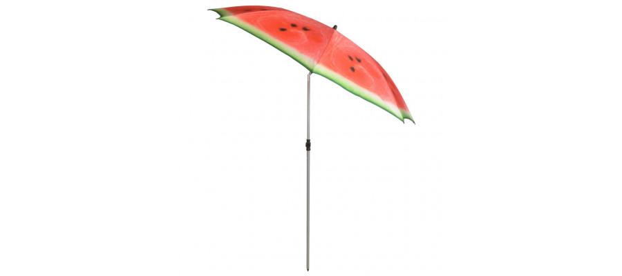 Esschert Design parasol Watermelon 184 cm rød og grøn TP262