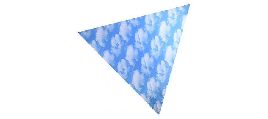 Esschert Design solsejl med skytryk