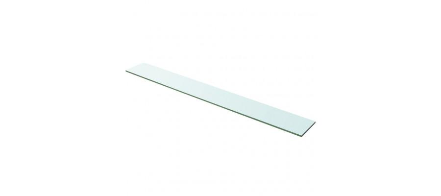 Hylde glaspanel klar 100x12 cm