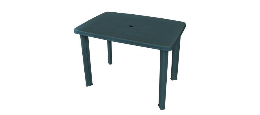 Havebord 101 x 68 x 72 cm plastik grøn