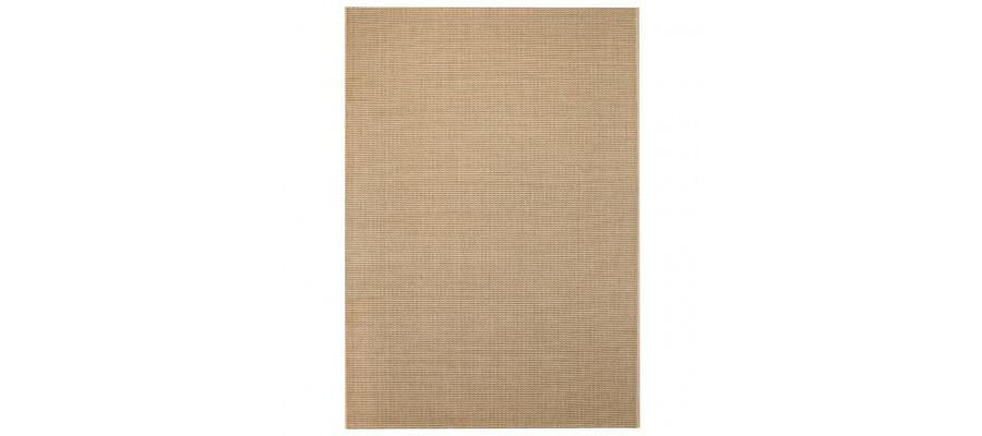 Tæppe sisallook indendørs/udendørs 160 x 230 cm beige