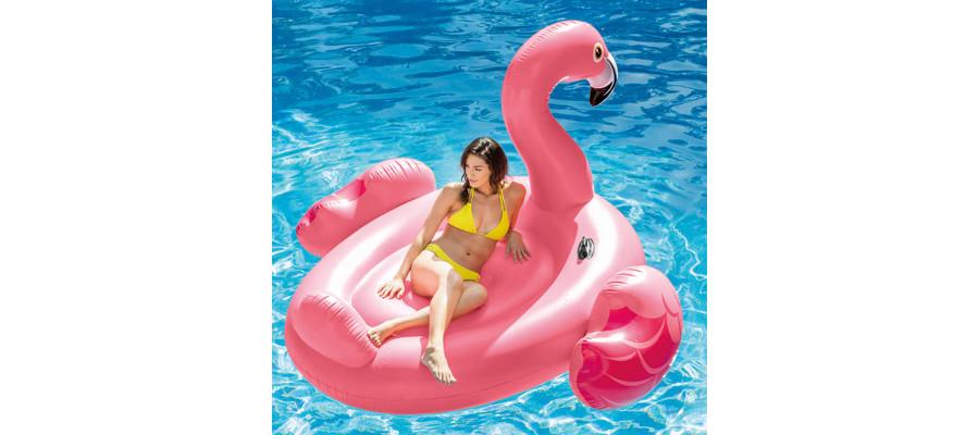 Intex luftmadras Mega Flamingo Island 56288EU