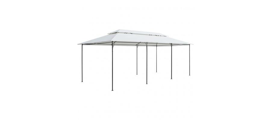 Pavillon 600 x 298 x 270 cm hvid