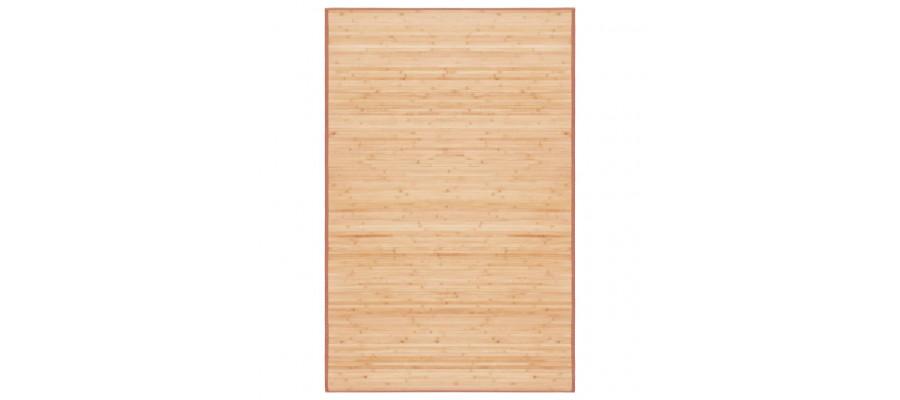 Bambustæppe 100 x 160 cm brun