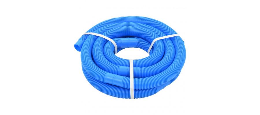 Poolslange 32 mm 6,6 m blå