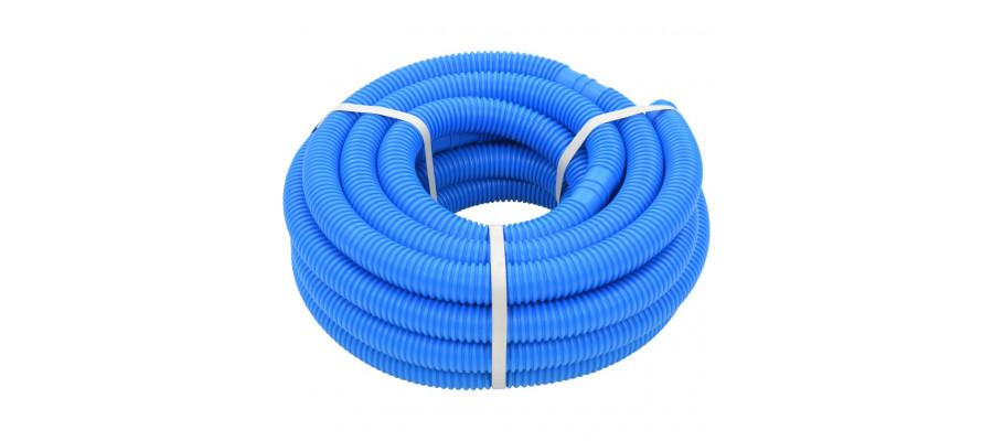 Poolslange 38 mm 12 m blå