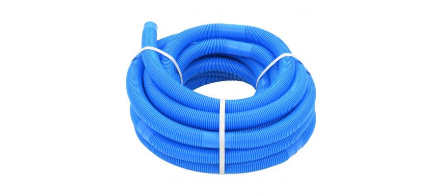 Poolslange 38 mm 15 m blå