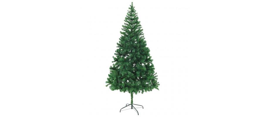 Kunstigt juletræ 210 cm