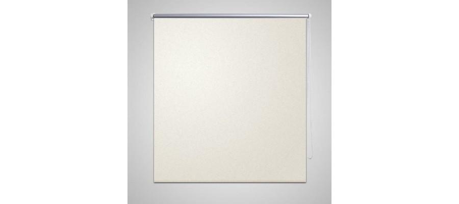 Mørklægningsrullegardin 40 x 100 cm offwhite