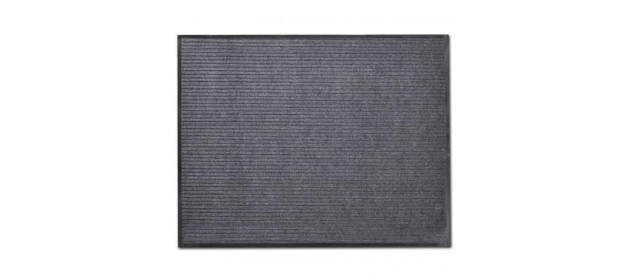 Dørmåtte PVC 90 x 60 cm grå