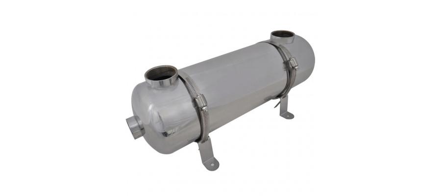 Varmeveksler til pool 485 x 134 mm 60 kW