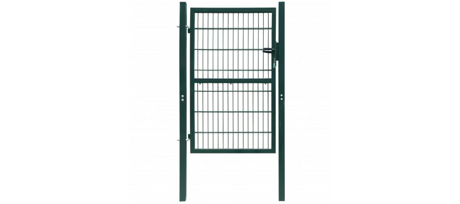 2D havelåge (enkelt), grøn, 106x190 cm