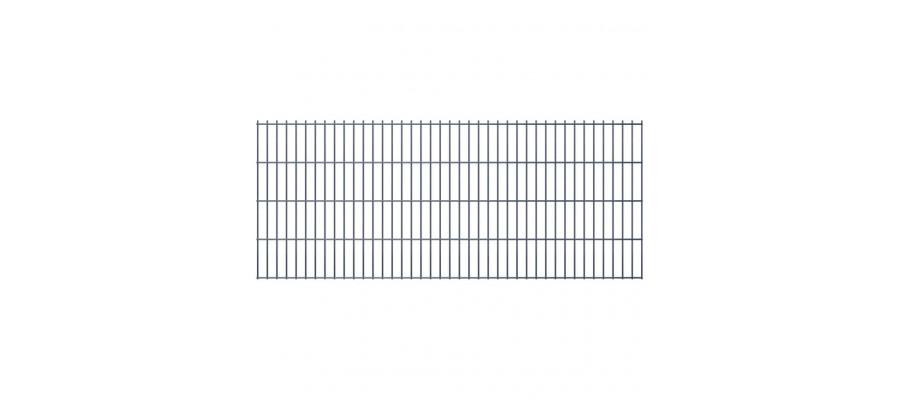 Havehegnspaneler 2D 2008 x 830 mm 20 m grå