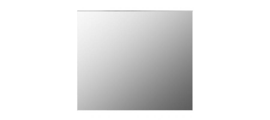 Spejl uden ramme 80x60 cm glas