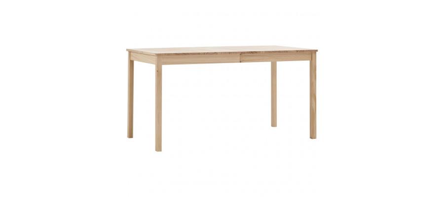 Spisebord 140 x 70 x 73 cm fyrretræ
