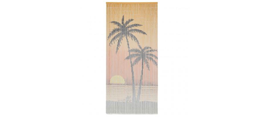 Insektgardin 90 x 200 cm bambus