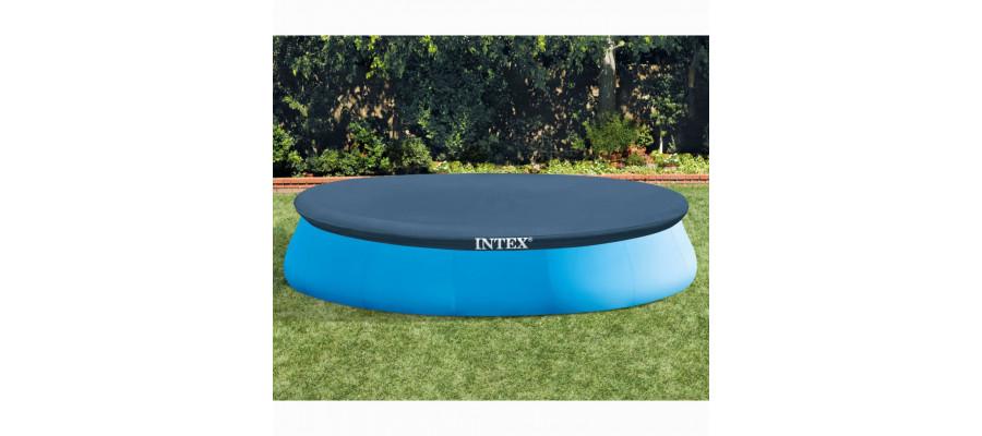 Intex poolovertræk rund 457 cm