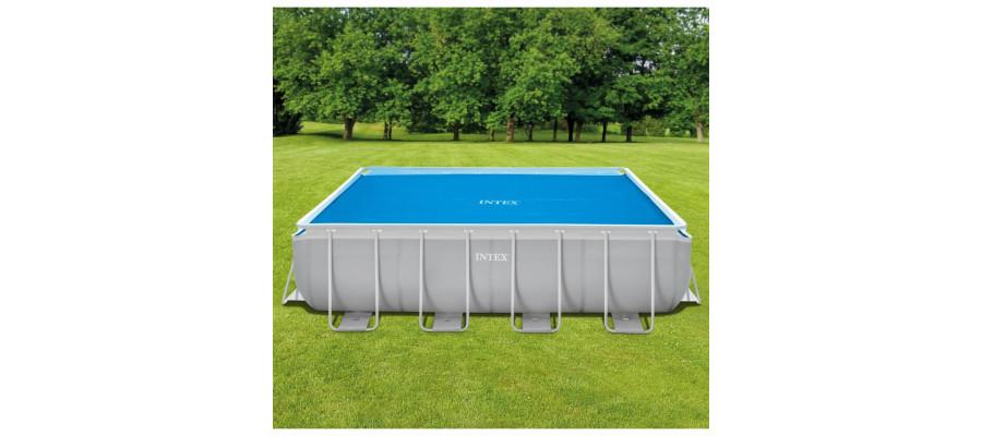 Intex solopvamet poolovertræk rektangulært 488 x 244 cm