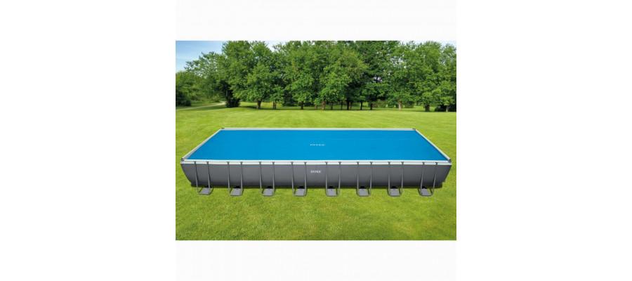Intex solopvarmet poolovertræk rektangulær 975 x 488 cm