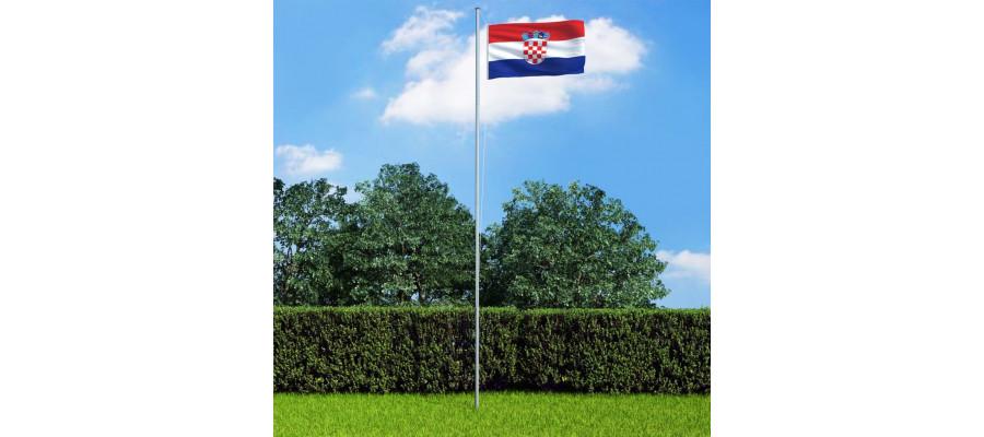 Kroatiens flag 90x150 cm