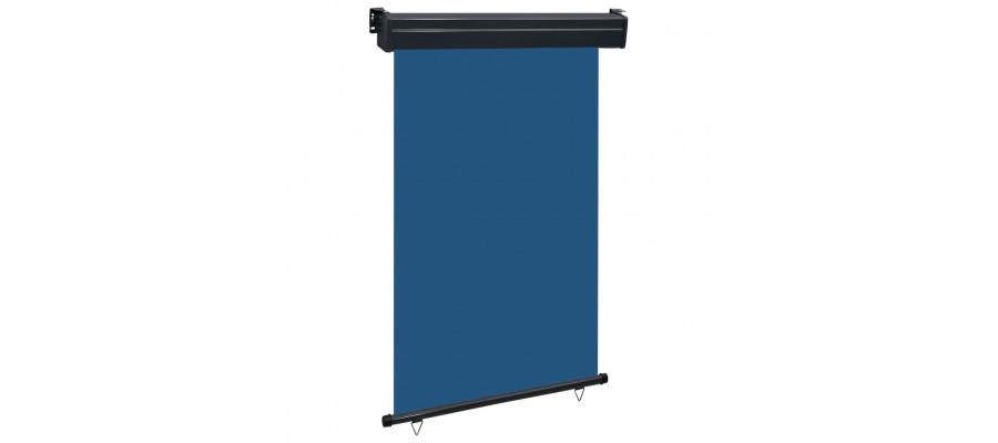 Sidemarkise til altan 120x250 cm blå