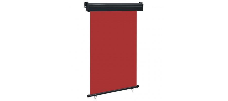 Sidemarkise til altan 120x250 cm rød