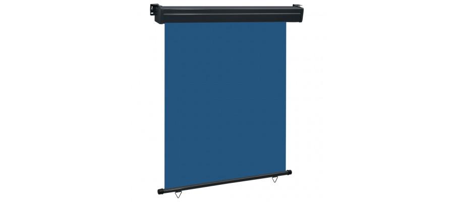 Sidemarkise til altan 140x250 cm blå