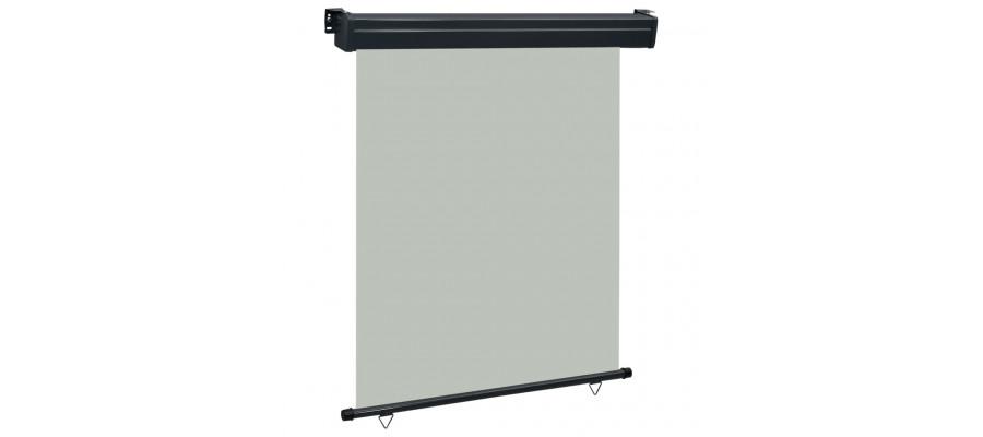 Sidemarkise til altan 140x250 cm grå