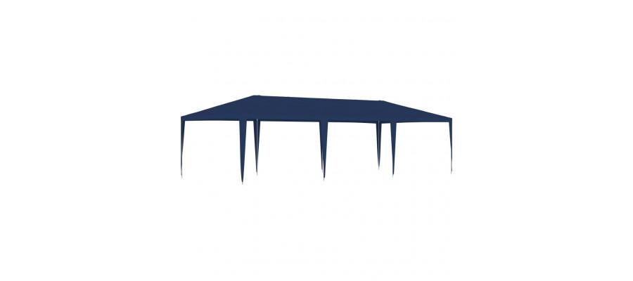 Festtelt 4x9 m blå