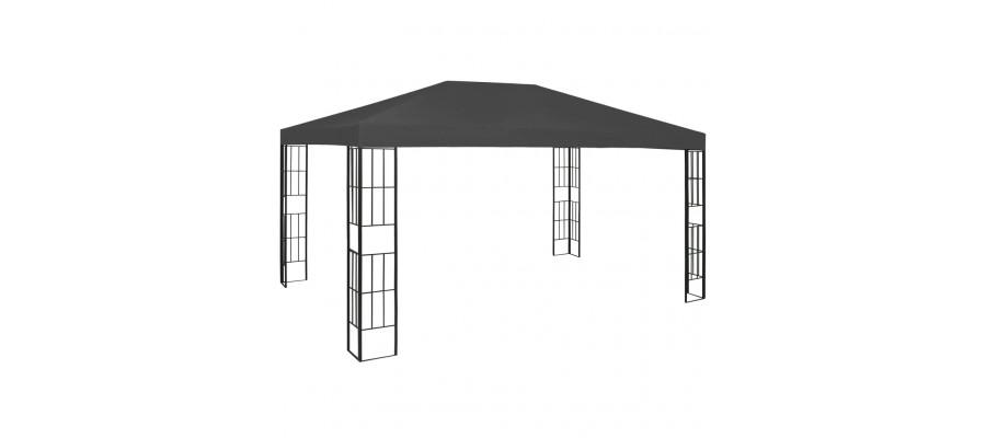 Pavillon 3x4 m antracitgrå
