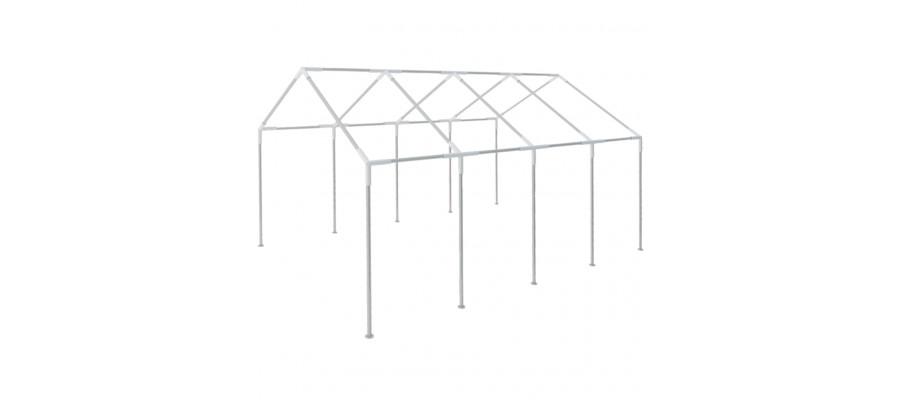 Stel til 8 x 4 m festtelt stål
