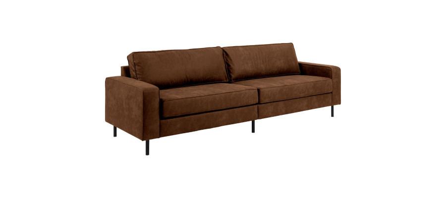 Jesolo 3-personers sofa brun