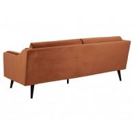 Montreal 3-personers sofa orange