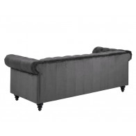 Charlietown 3-personers sofa grå