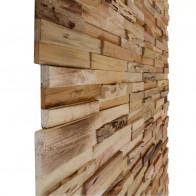 10 stk. vægpaneler 1 m² genbrugsteak
