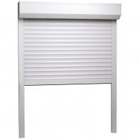 Rulleskodder aluminium 100 x 130 cm hvid