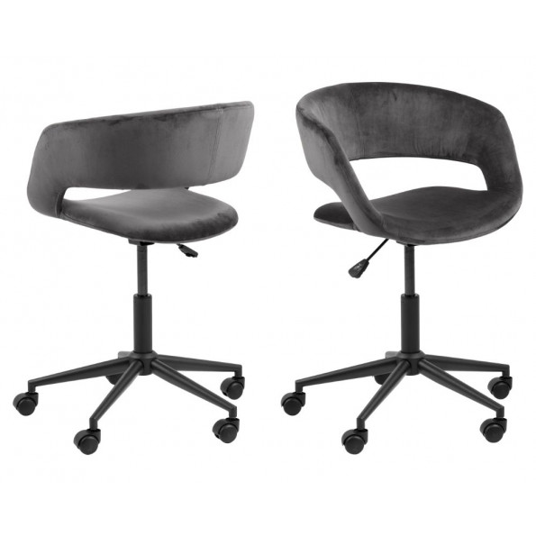 Grace skrivebordsstol grå