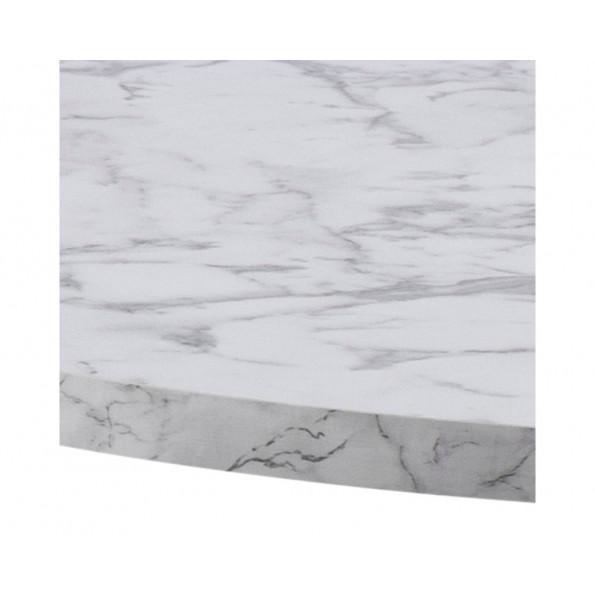 Amble spisebord hvid