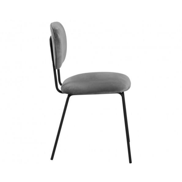 Ariana spisebordsstol grå