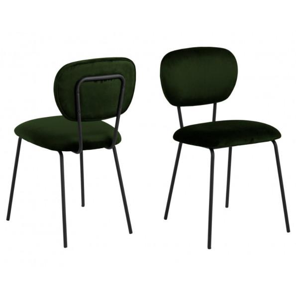 Ariana spisebordsstol grøn