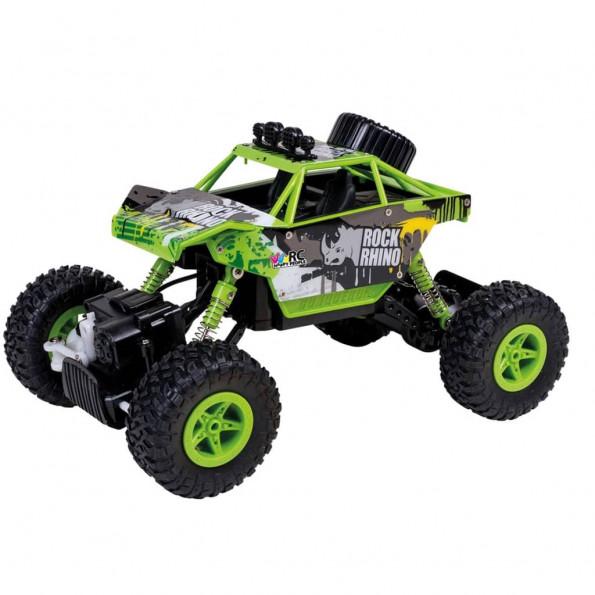 Happy People radiostyret legetøjsbil Rock Rhino