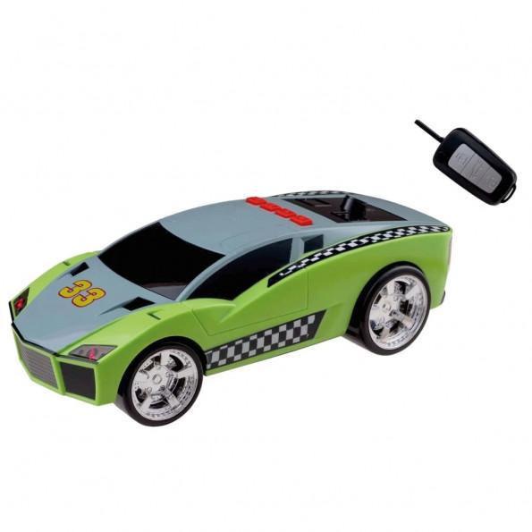 Happy People legetøjs-racerbil Key Racer 28 cm grøn