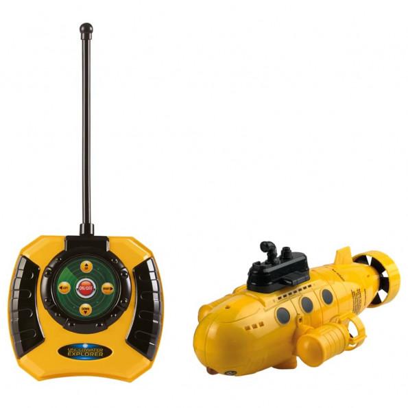 Happy People legetøjs-ubåd med fjernbetjening Underwater Explorer 26 cm