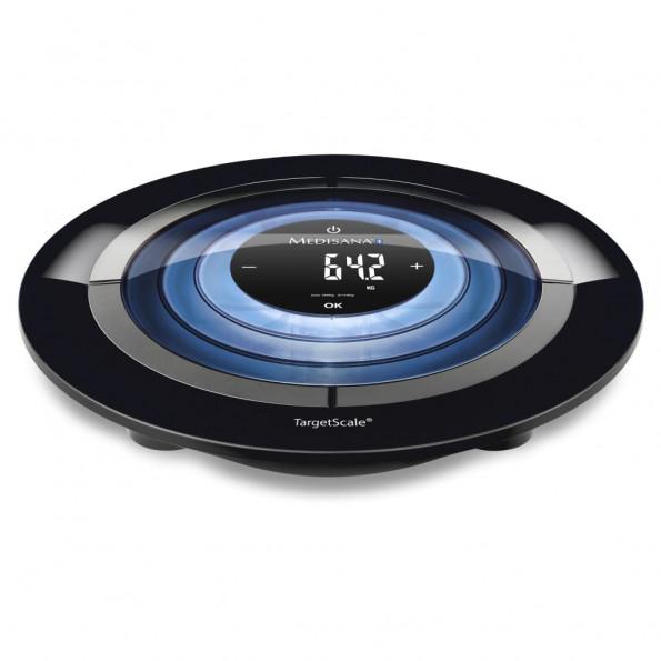 Medisana kropsanalysevægt TargetScale 3 180 kg sort og sølvfarvet