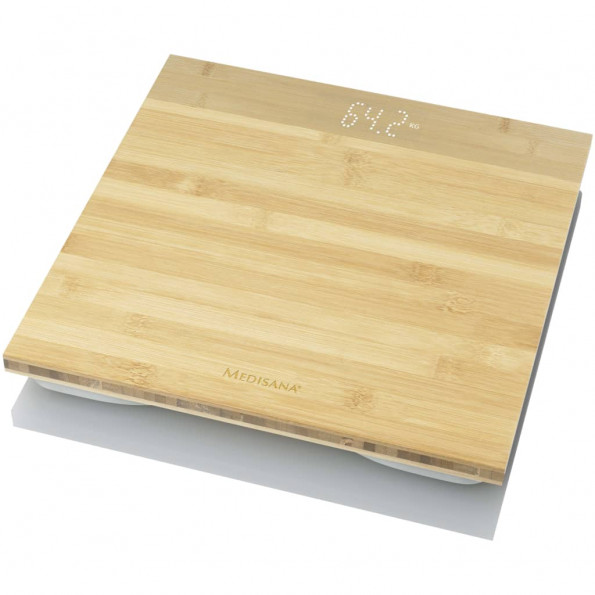 Medisana badevægt PS 440 bambus brun