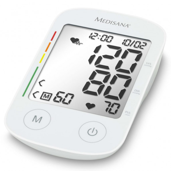 Medisana blodtryksmåler til overarm stemmefunktion BU 535 Voice hvid