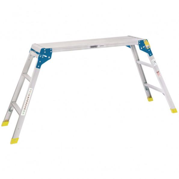 Draper Tools arbejdsplatform 3 trin 100x30x73 cm aluminium